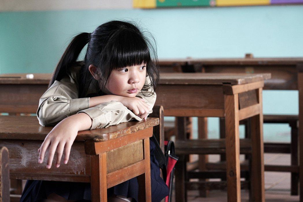 吳以涵演出「俗女養成記」女主角童年。圖/華視提供