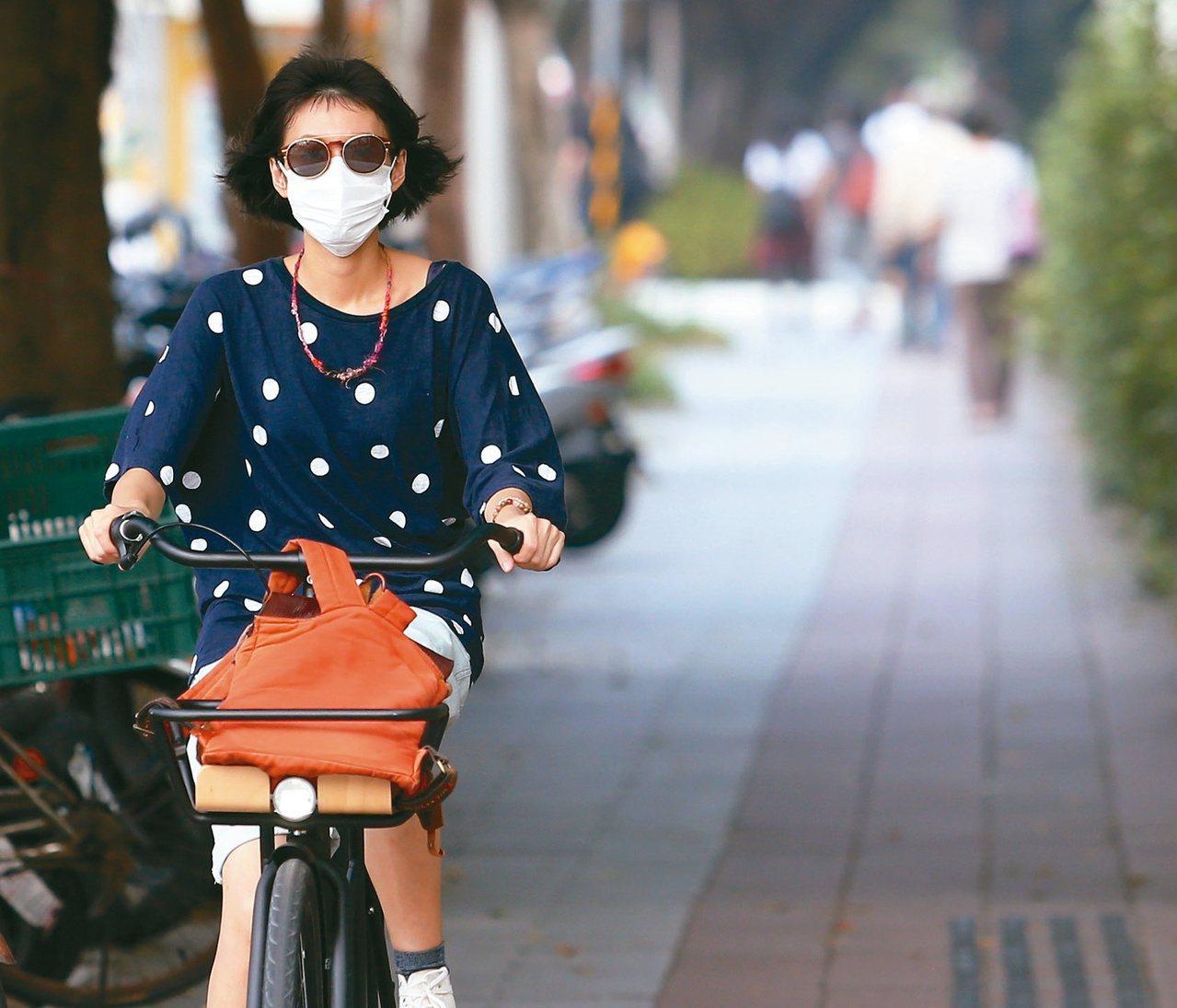 環保署今天公布107年各縣市PM2.5的年平均值,全台22縣市僅有6縣市達到標準...
