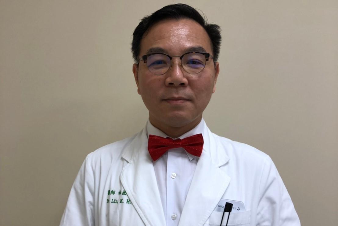中國醫藥大學新竹附設醫院心臟血管科主任林圀宏。圖/ 林圀宏醫師提供