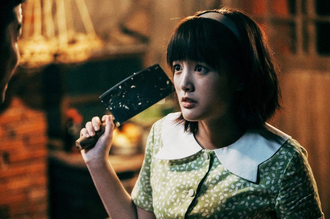 王淨在「用九柑仔店」中飾演一位不畏世俗的大小姐,為了愛情赴湯蹈火。圖/三立提供