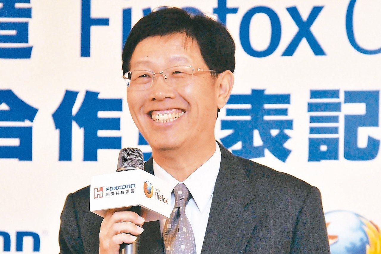 鴻海董座劉揚偉