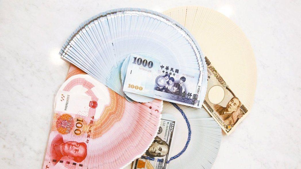 新台幣兌美元匯率盤中一度重貶逾1角,尾盤貶幅卻硬生生砍了一半。記者曾原信/攝影