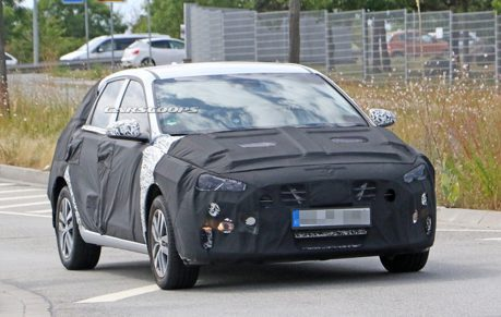 熱賣掀背車Hyundai i30小改款捕獲 難道要推插電版車型?
