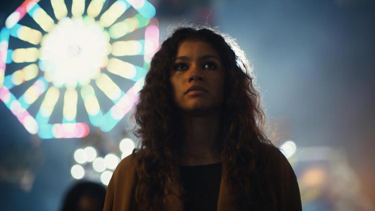 Zendaya主演HBO影集《高校十八禁》。圖/達志影像