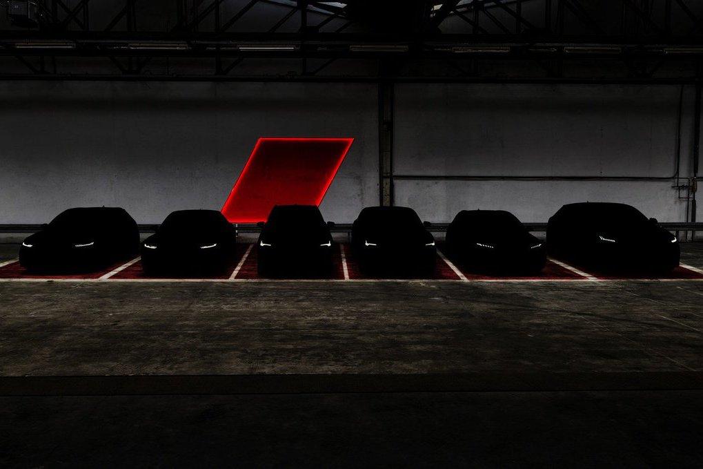 Audi預告將在法蘭克福車展推出6款RS性能車型!