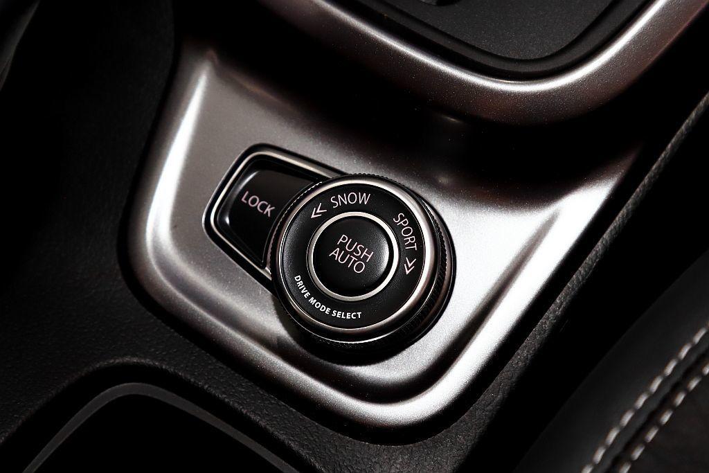Suzuki ALLGRIP適時智慧型四輪傳動系統,駕駛人可依照不同路況及喜好自...