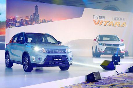 高質感、更安全!小改款Suzuki Vitara台幣77萬起開賣