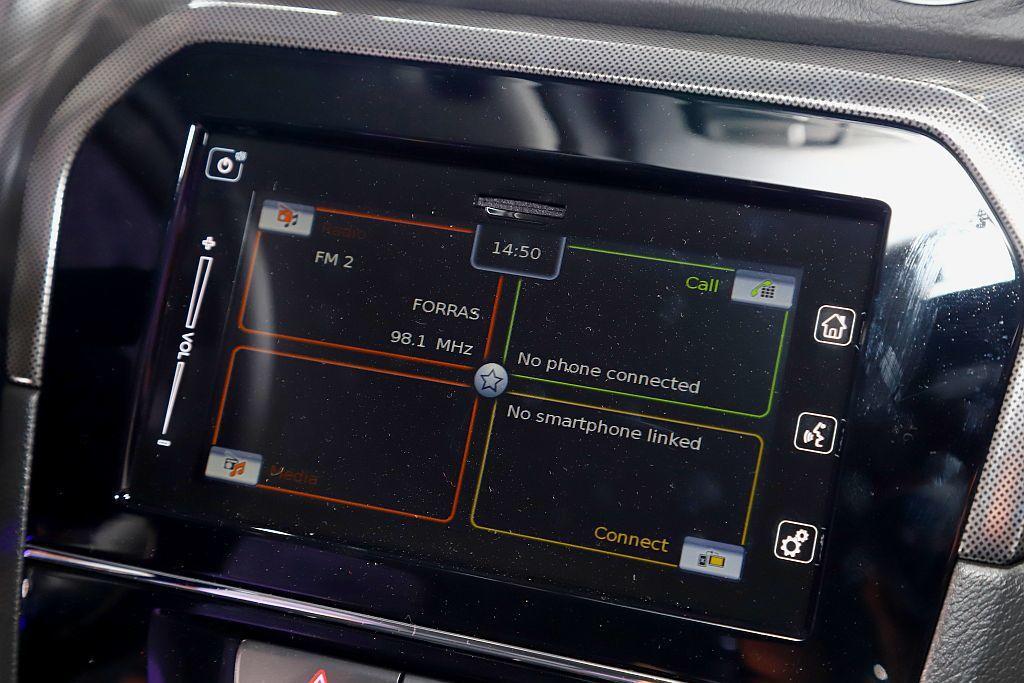 小改款Suzuki Vitara提供多功能觸碰螢幕可選(Vitara S、Vit...
