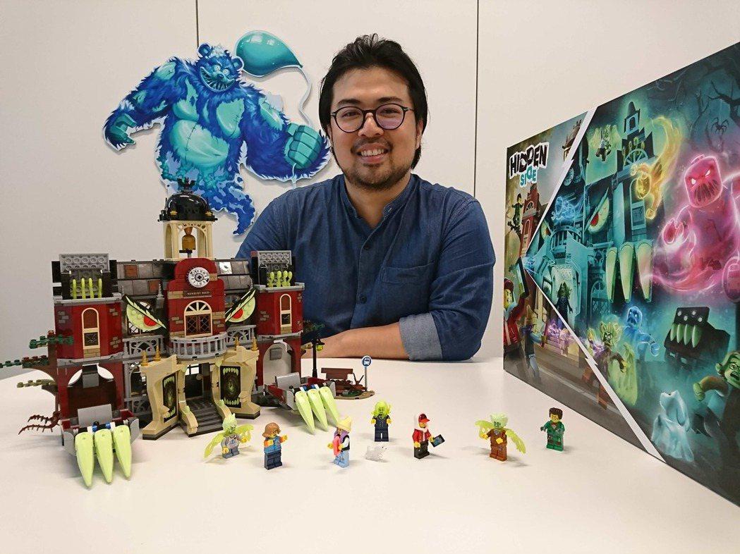 LEGO Hidden Side主要盒組「High School紐伯里鬧鬼高校」...