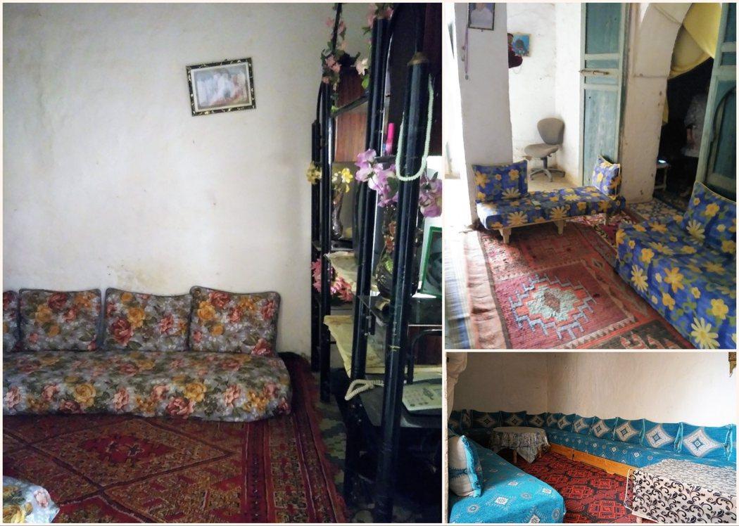 母女倆住的房間