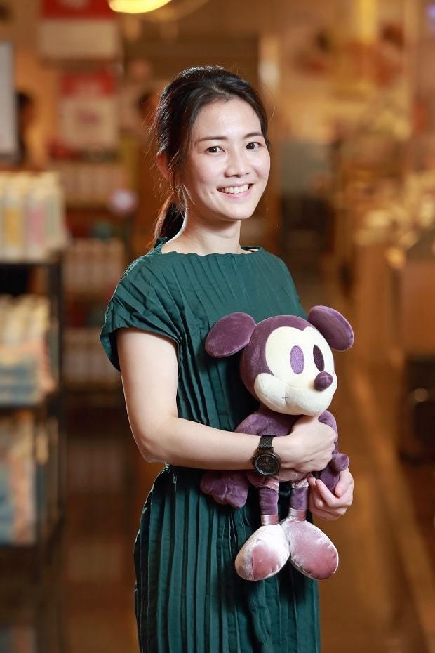 特力和樂台灣商品部總監蔡姍吟觀察,台灣零售市場辛苦,兩品牌合作打市場,比創造新品牌容易得多。 (王建棟攝)