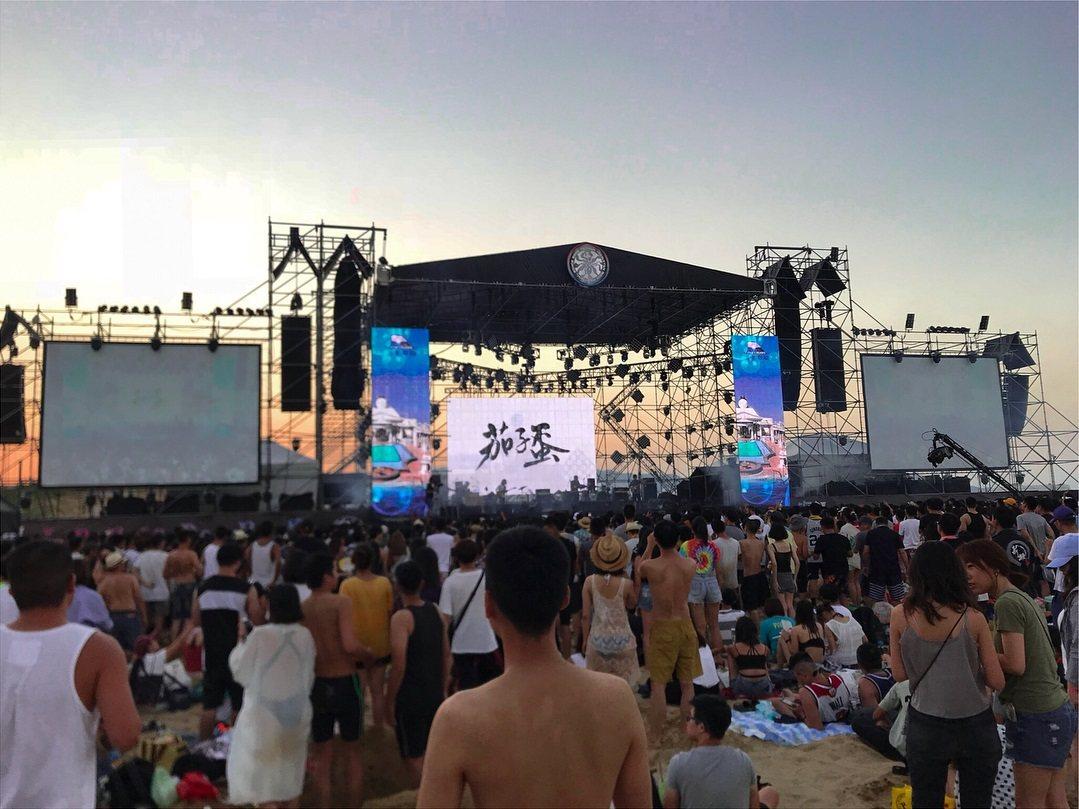2019新北市貢寮國際海洋音樂祭。 圖/IG, _cyw_715