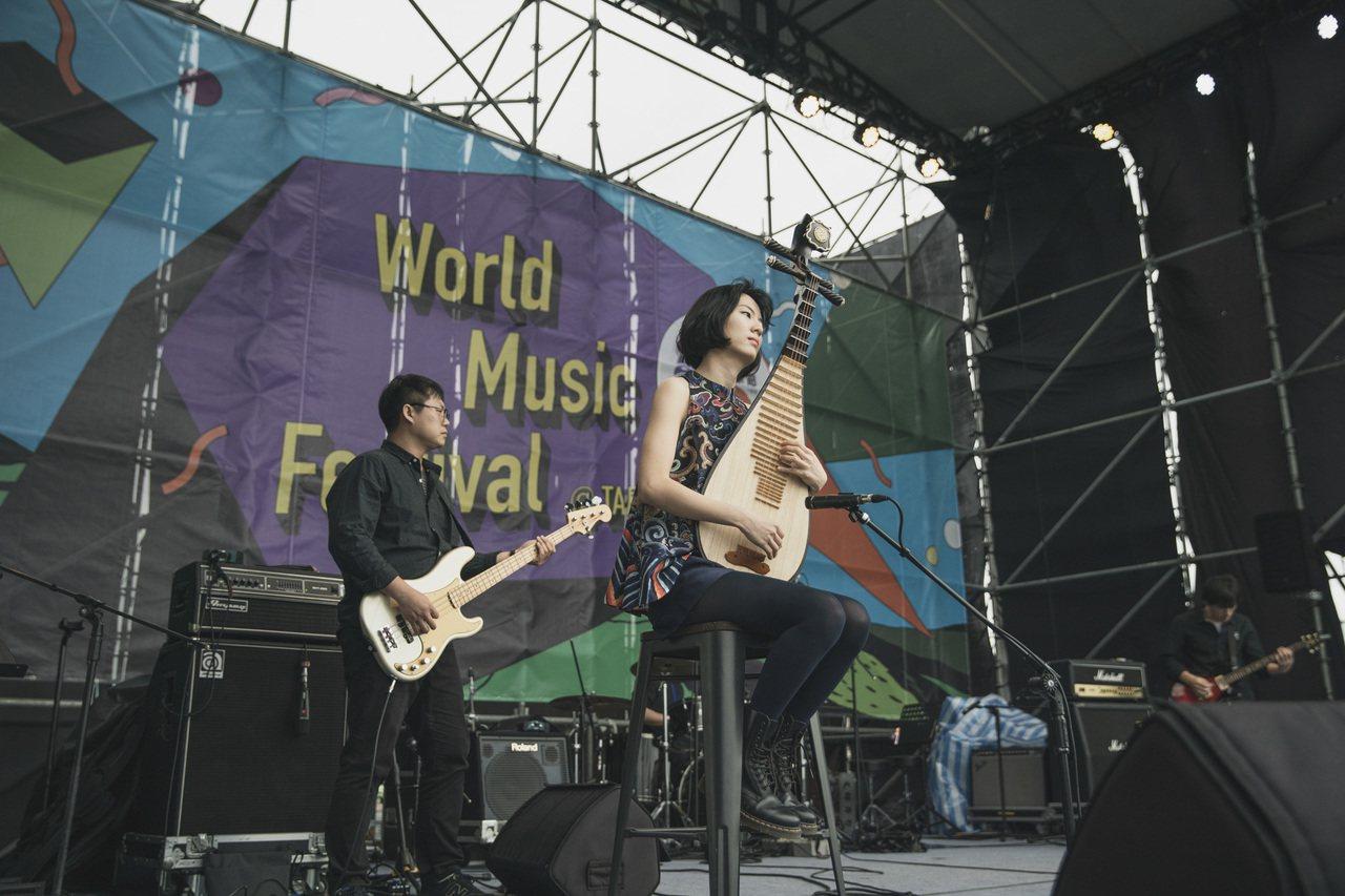 留聲姬樂團於媒合會演出。圖文/風潮音樂提供