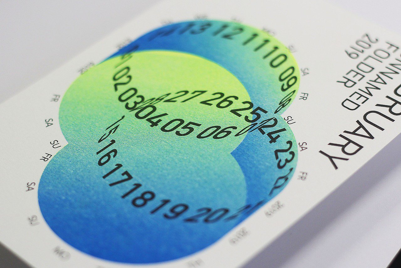 台科大設計系團隊打造月曆與書籤組「未命名資料夾」。圖/台科大提供