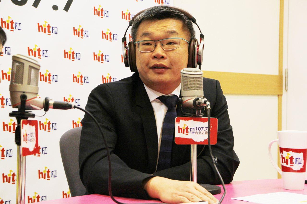 立法院副院長蔡其昌。圖/Hit Fm《周玉蔻嗆新聞》製作單位提供