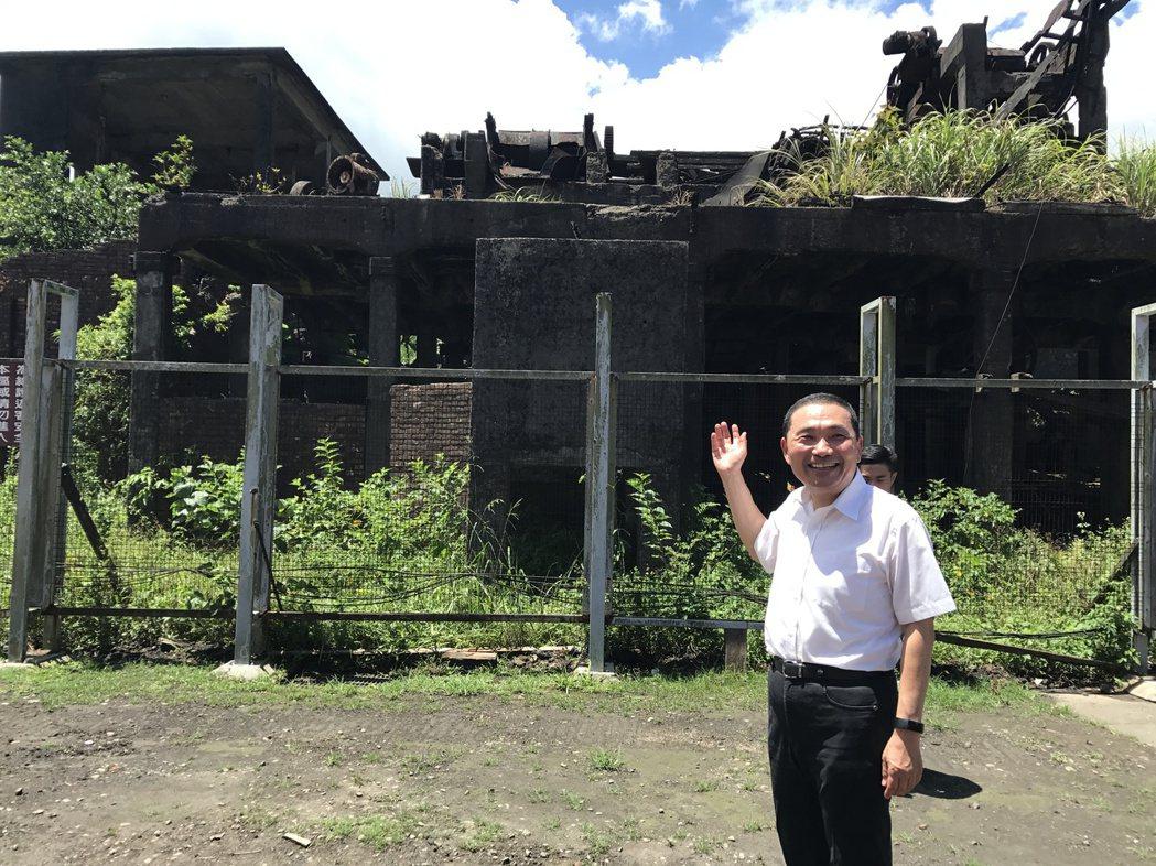 老礦工盼了20多年,瑞三礦業選煤廠修復再利用今動工。記者吳淑君/攝影