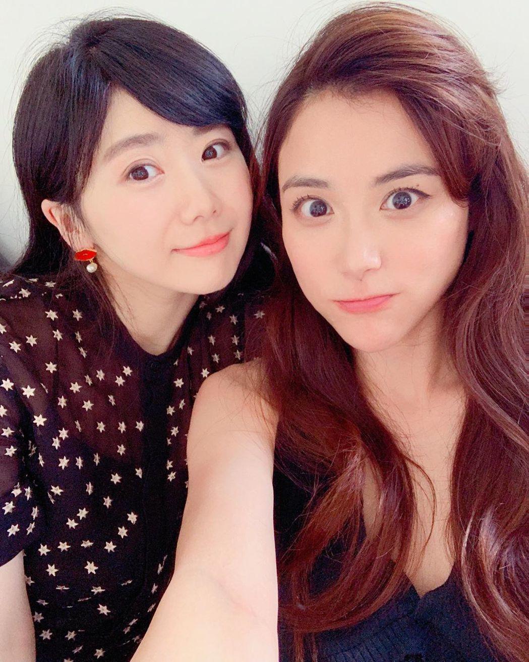 江恆亘(右)跟弟妹福原愛的美貌引起熱議。圖/摘自IG