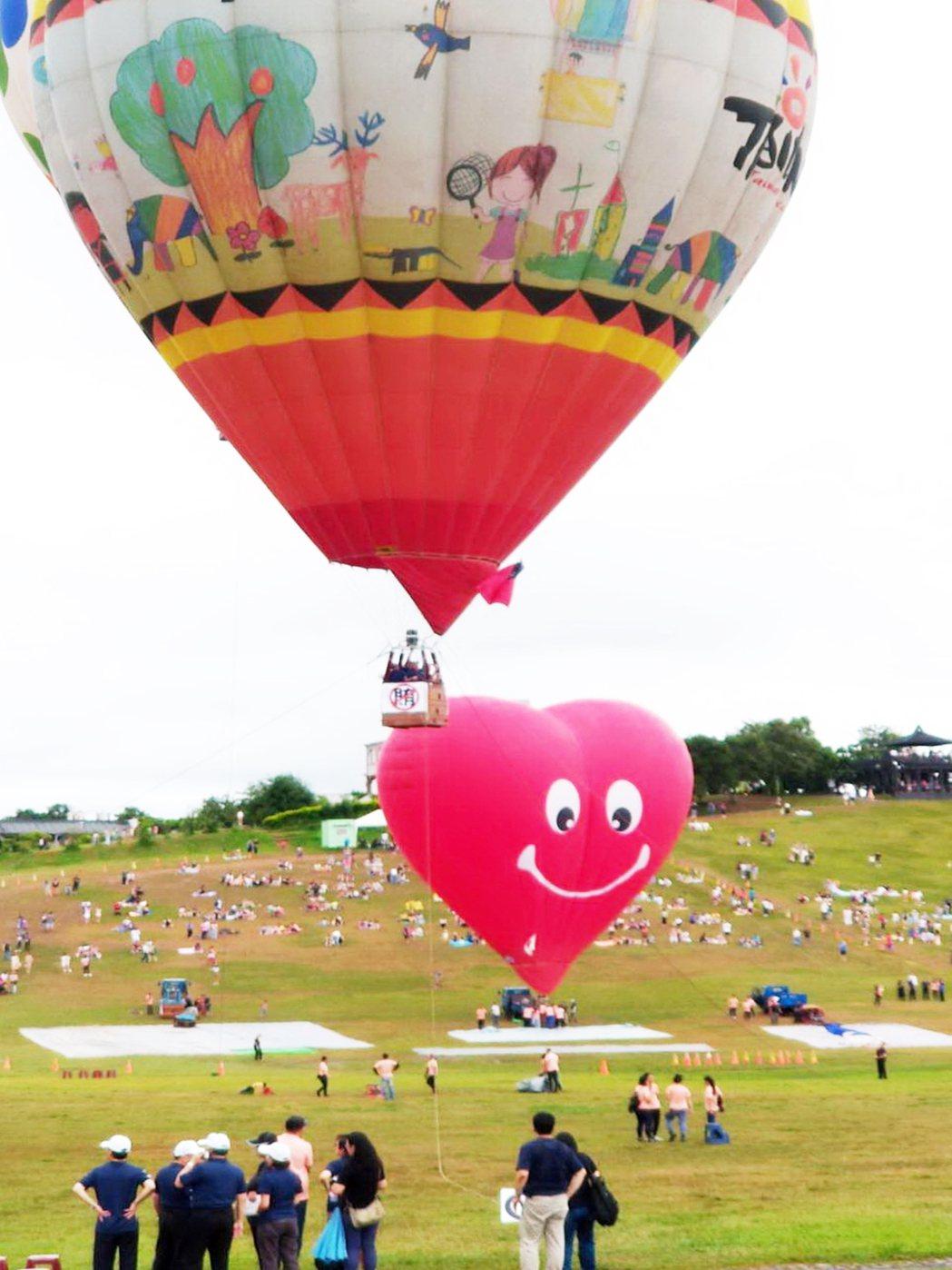 法務部搭上時下最夯的台東熱氣球活動,在台東舉行「登高一呼反賄啟航」反賄選宣導,吸...