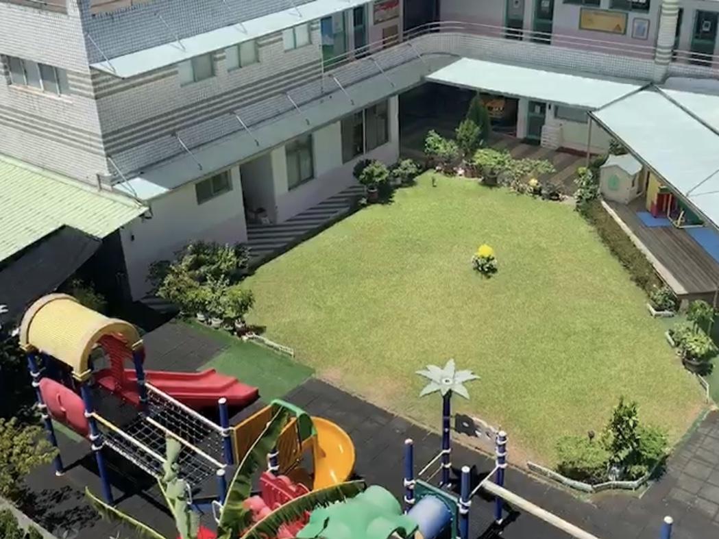 發生溺水意外的幼兒園在林口地區頗具知名度,是就讀人數前三多的幼兒園。記者巫鴻瑋/...