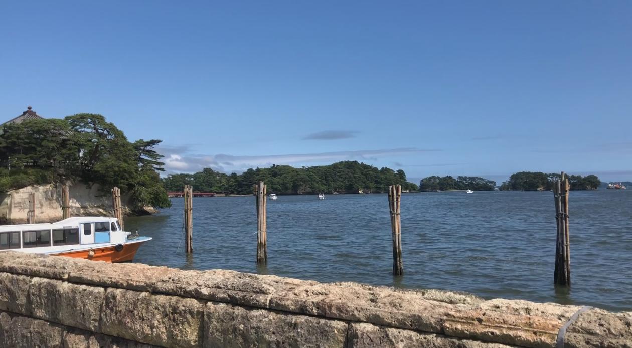 松島灣內大小島嶼總數約260個。記者曹悅華/攝影
