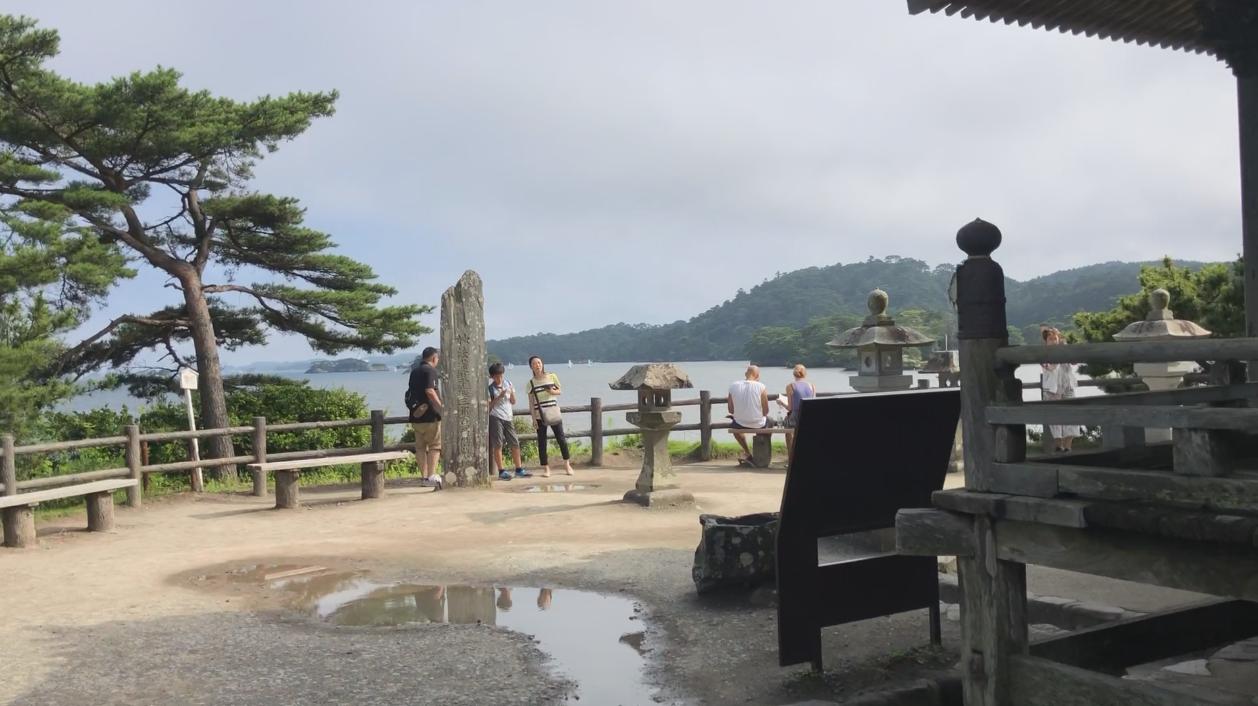 松島海岸。記者曹悅華/攝影