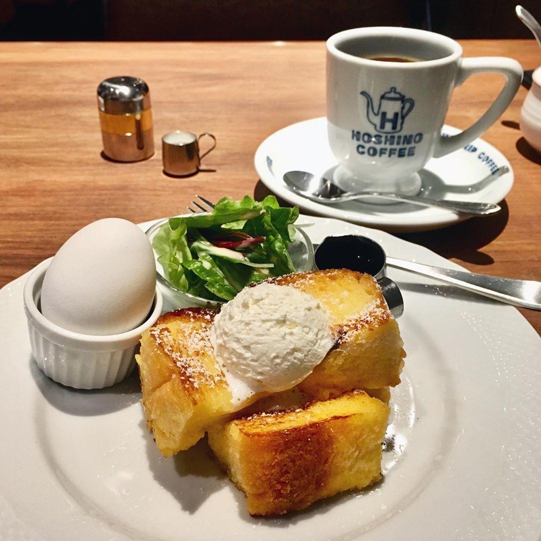 星乃珈琲店來台因配合百貨營業時段,暫時不推出早餐。圖/摘自IG:@uu33