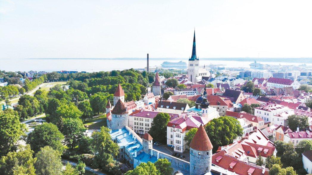 愛沙尼亞古老的外貌下,有著先進科技的內在。 記者李欣澄/攝影