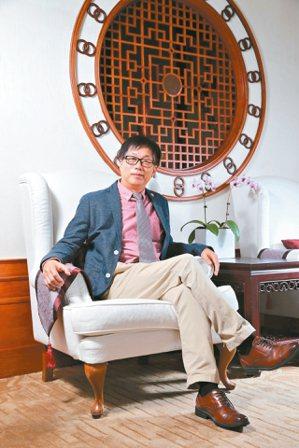 圓山飯店董事長林育生。 記者許正宏/攝影