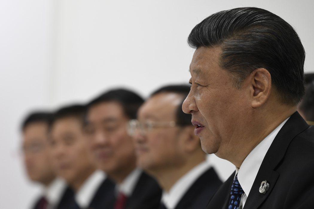 中國國家主席習近平。 美聯社