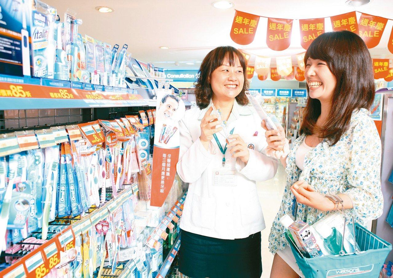 選購牙齒美白產品前,宜先諮詢專業人員,再至有信用的店家購買。 圖╱聯合報系資料照...