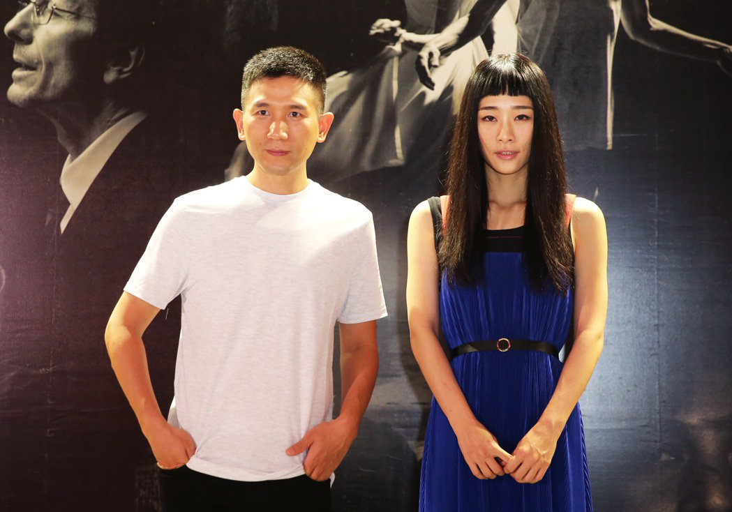 吳可熙(右)與導演趙德胤合作多次。 圖/聯合報系資料照