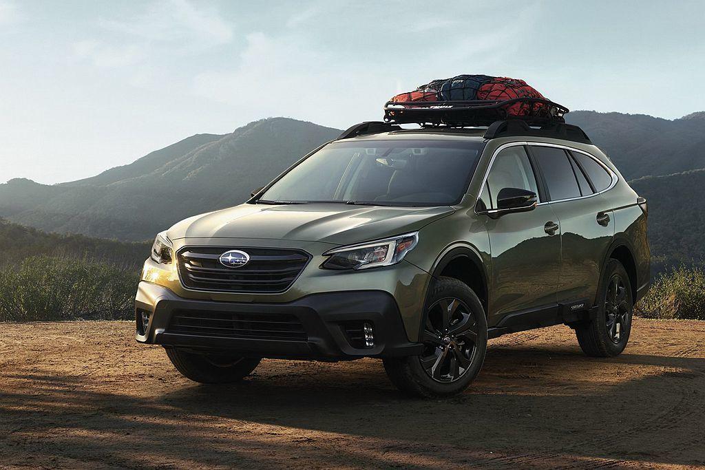 美規Subaru Outback跨界旅行車已經開始生產,但台灣就沒這麼快,推估要...