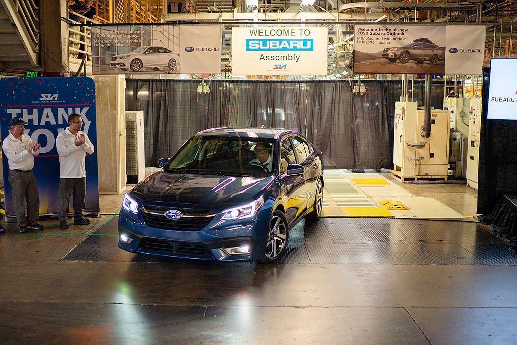 Subaru汽車位於美國印第安納州廠的生產基地日前宣布,新世代Legacy/Ou...