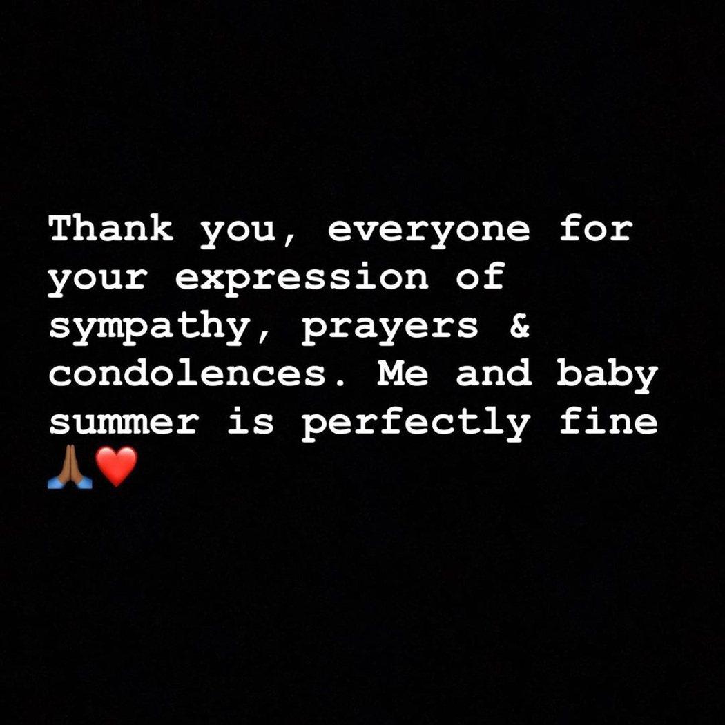 Yung Miami在槍襲事件後發文報平安。圖/擷自Instagram