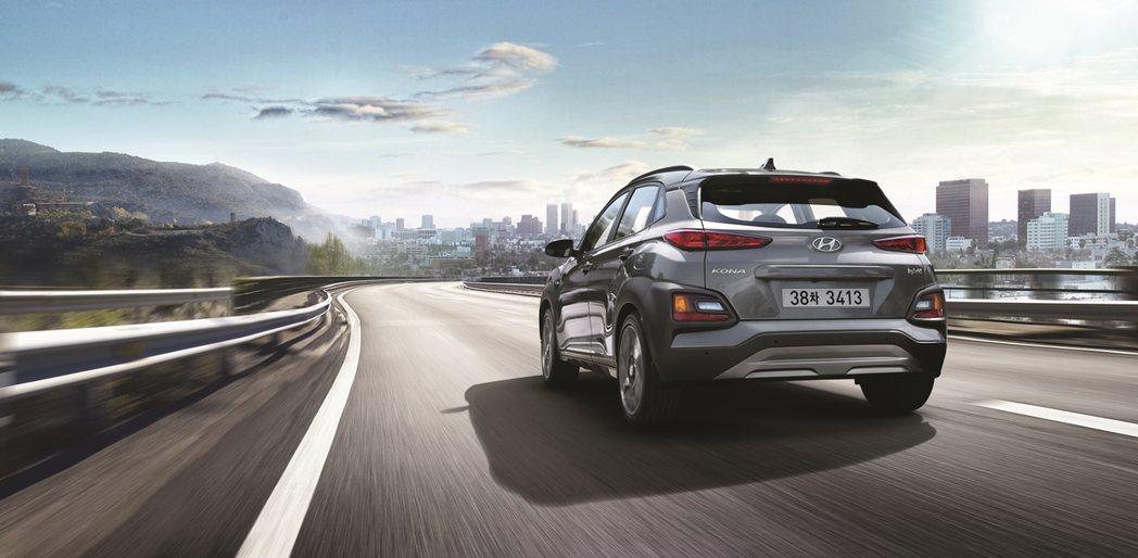 全新Hyundai Kona Hybrid油耗最佳可達到每公升平均19公里的表現...