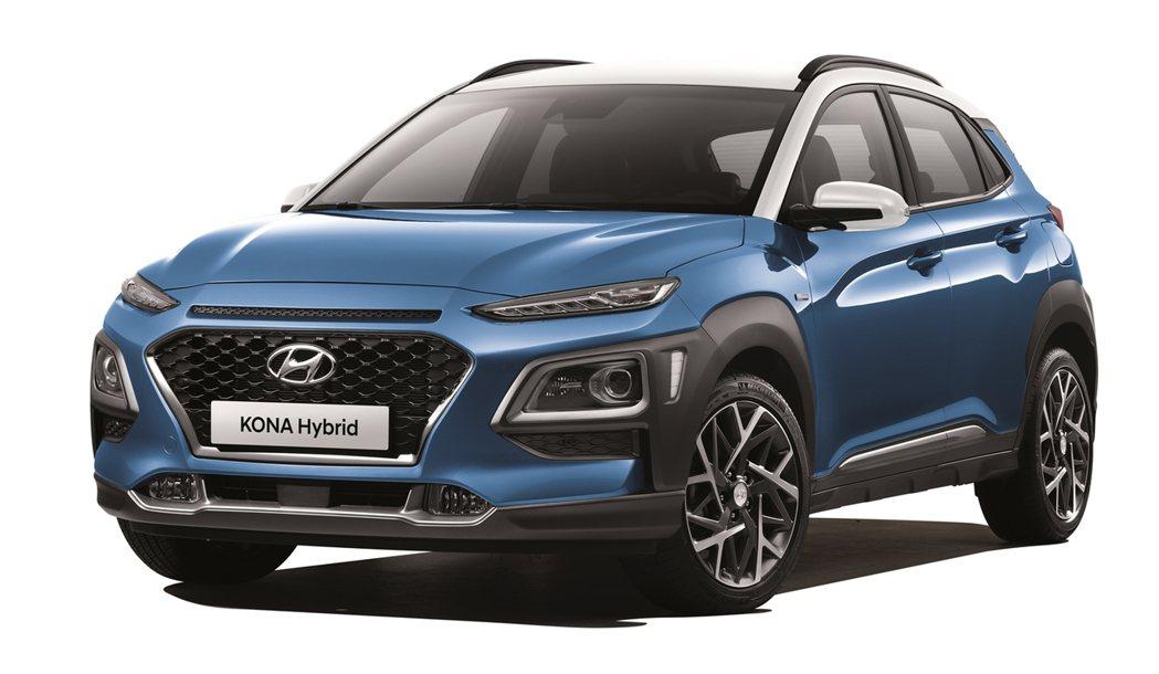 全新Hyundai Kona Hybrid已正式於韓國販售中。 摘自Hyunda...
