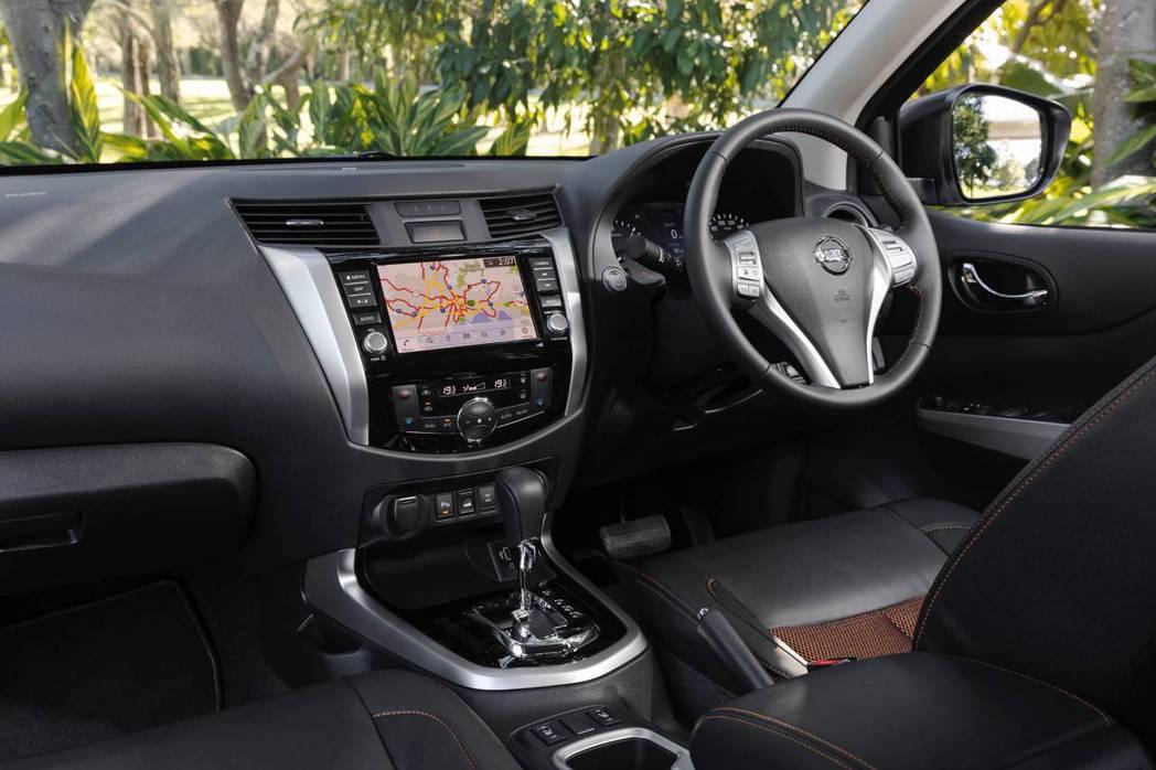 全新的車載娛樂系統搭配衛星導航更加實用。 摘自Nissan
