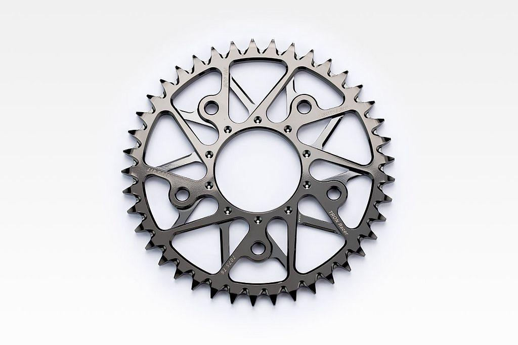 輕量PVD鍍層鋁合金齒盤。 圖/Gogoro提供