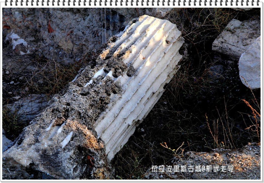 看到傾倒的石柱,不會覺得它是一堆廢墟,瞭解它的歷史後,就不僅僅是一堆石頭。