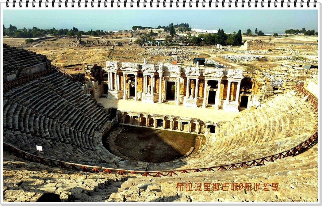 古城遺址當中保存比較完整的羅馬大劇場讓我大開眼界,大劇場是一座占地面積很大的露天圓形劇場,依弧形砌建而成,以現代人的眼光和技術,仍然具有美學的意義。
