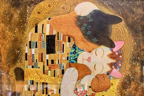 世界名畫.全面喵畫「貓.美術館CATART」,飄洋過海來到台灣