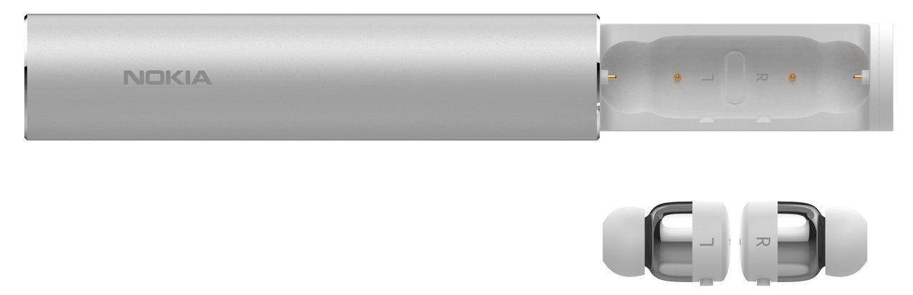 Nokia真無線藍牙耳機浩瀚銀,建議售價3,990元。圖/HMD Global提...