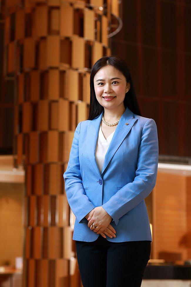 周麗華出任香格里拉台南遠東飯店總經理一職。 圖/業者提供