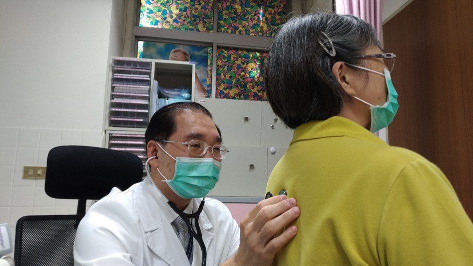 醫師建議咳嗽超過一周未改善,請找胸腔專科醫師詳細檢查與治療。圖/台大醫院新竹分院...
