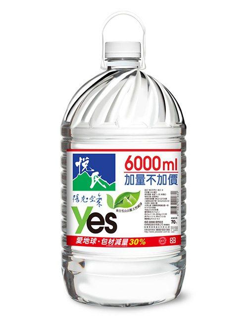 OKmart在利奇馬颱風期間推出悅氏礦泉水6L兩瓶特價112元,各門市售完為止。...