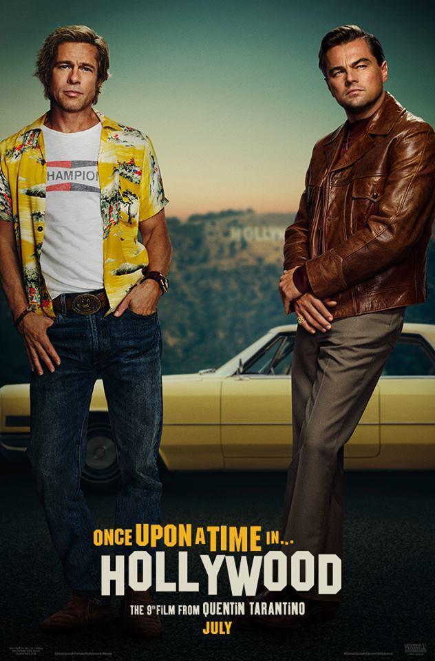 李奧納多狄卡皮歐與布萊德彼特兩大巨星一起於電影《從前,有個好萊塢》演出過氣演員和...
