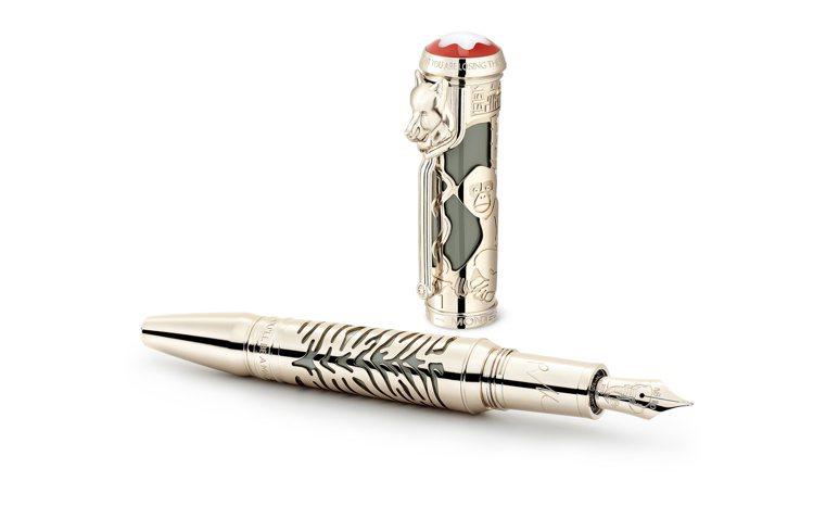 萬寶龍大文豪系列向魯德亞德吉卜林敬鋼筆限量版1895,13萬5,000元。圖/萬...