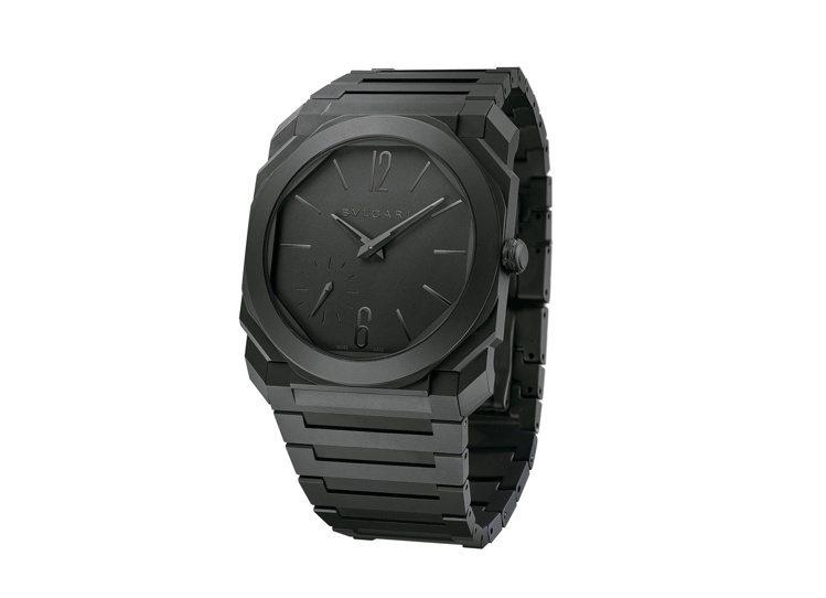 寶格麗Octo Finissimo自動上鍊腕表,陶瓷表殼、表盤、表鍊,約49萬8...
