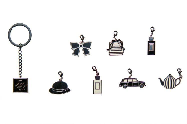 全台獨家的Jo Malone經典吊飾鑰匙圈組,於台北SOGO復興館形象概念店消費...