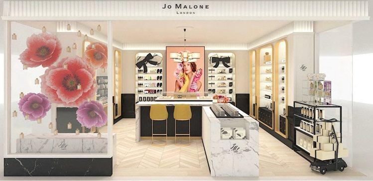 Jo Malone亞洲第二間形象概念店選在台北SOGO復興館B1,8月8日正式開...
